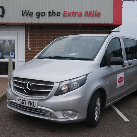 Executive minibus Birmingham